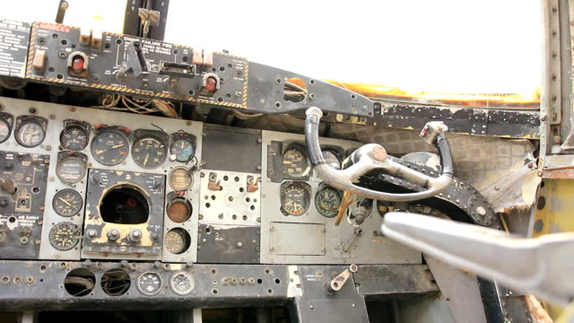 Old Flugzeug Dashboard
