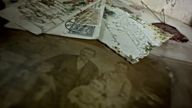 Old postcards,A family history resource