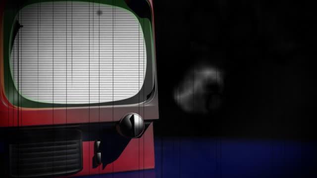 Alte Retro-Fernseher