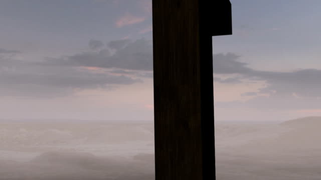 Old Rugged Cross Sunrise Clip 1 of 4