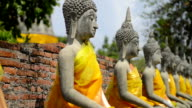 Old Stone statue di Buddha