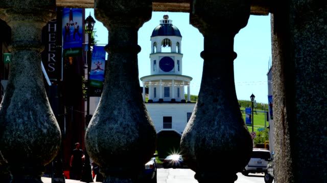 Oude stad klok Halifax Nova Scotia