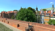 Old Town Fortifications - Warsaw, Poland