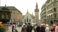 ZO WS Old Town Hall at Marienplatz / Munich, Bavaria, Germany