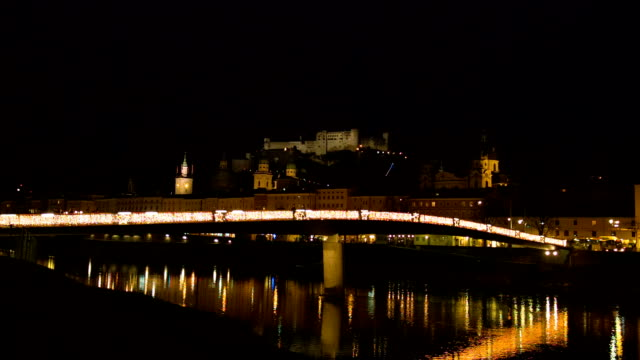 Old town of Salzburg - Night