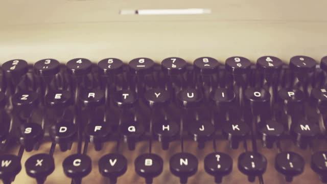Old vintage italian typewriter