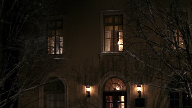 MS Older two story brick apartment building / Washington D.C., United States