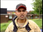 Aftermath ITN ENGLAND Lancashire Oldham Vox pops local people on what they want to happen SOT