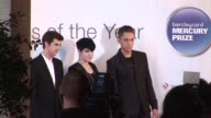 Oliver Sim Romy Madley Croft and Jamie Smith of The XX at the Barclaycard Mercury Prize Arrivals at London England