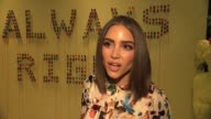 INTERVIEW Olivia Culpo on how excited she was to hear that Alice Olivia were coming out with an eyewear line at Alice Olivia by Stacey Bendet...