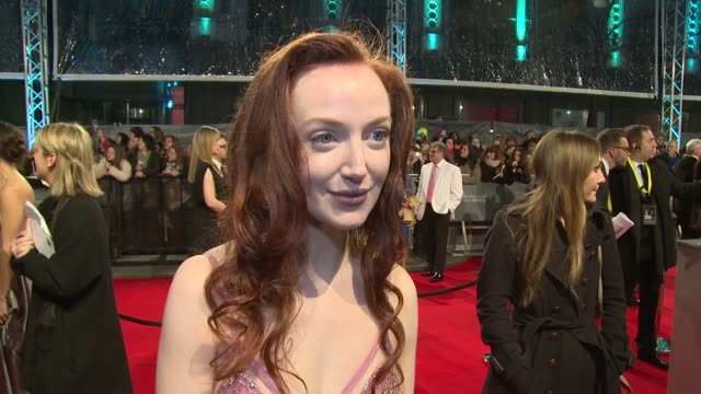 INTERVIEW Olivia Grant on being at the BAFTAs her favourite films and her new show at The EE British Academy Film Awards London England February 8th...