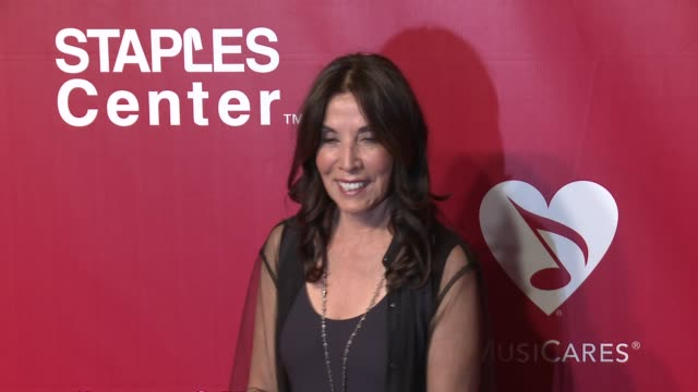 Olivia Harrison at the 2016 MusiCares Person of The Year Honoring Lionel Richie at Los Angeles Convention Center on February 13 2016 in Los Angeles...