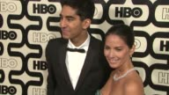 Olivia Munn and Dev Patel at HBO's 70th Annual Golden Globes After Party in Los Angeles CA on 1/13/13