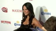 Olivia Munn at the Maxim Hot 100 2009 at Santa Monica CA