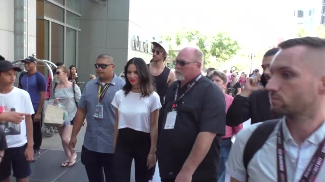 INTERVIEW Olivia Munn on if she still plays video games at Celebrity Sightings at San Diego ComicCon International on July 21 2017 in San Diego...