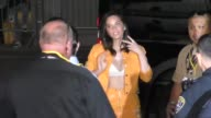 Olivia Munn outside Conan O'Brien's Comic Con Special at Spreckels Theatre in San Diego in Celebrity Sightings in San Diego