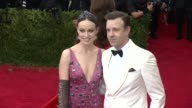 Olivia Wilde and Jason Sudeikis at 'China Through The Looking Glass' Costume Institute Benefit Gala Arrivals at Metropolitan Museum of Art on May 04...