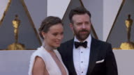 Olivia Wilde and Jason Sudeikis at the 88th Annual Academy Awards Arrivals at Hollywood Highland Center on February 28 2016 in Hollywood California 4K