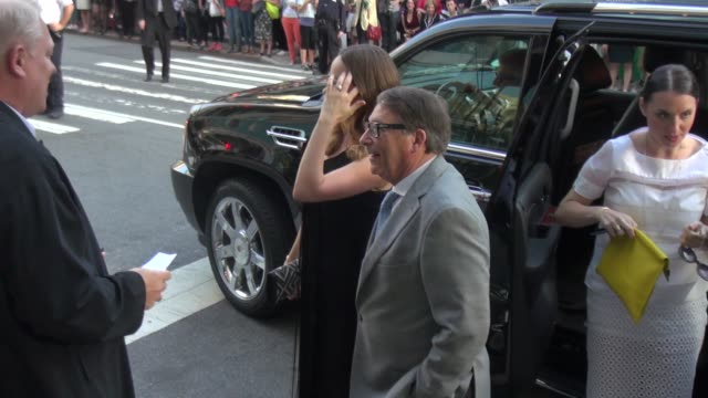 Olivia Wilde and Stuart Weitzman arrive at the 2014 CFDA Fashion Awards at Alice Tully Hall Lincoln Center on June 02 2014 in New York City