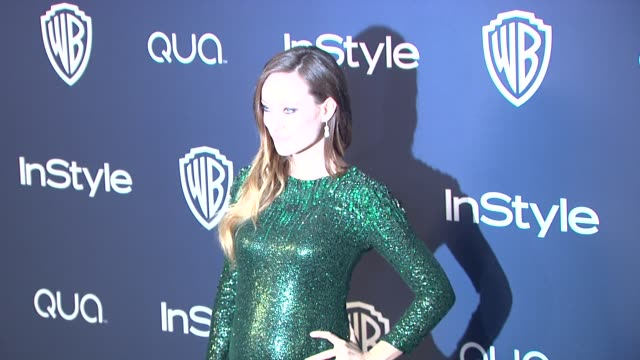 Olivia Wilde at 2014 InStyle And Warner Bros 71st Annual Golden Globe Awards PostParty at The Beverly Hilton Hotel on in Beverly Hills California