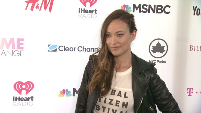 Olivia Wilde at 2015 Global Citizen Concert at Central Park on September 26 2015 in New York City