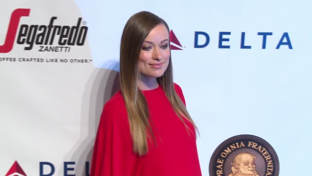 Olivia Wilde at Friars Club Honors Martin Scorsese With Entertainment Icon Award at Cipriani Wall Street on September 21 2016 in New York City