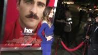 Olivia Wilde at 'her' Los Angeles Premiere in Los Angeles CA on