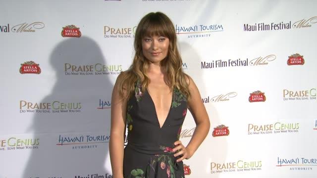 Olivia Wilde at the 2011 Maui Film Festival Day 2 at Wailea HI