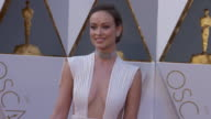 Olivia Wilde at the 88th Annual Academy Awards Arrivals at Hollywood Highland Center on February 28 2016 in Hollywood California 4K