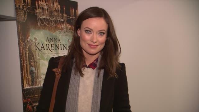 Olivia Wilde at the 'Anna Karenina' Special Screening in New York NY on 11/7/12