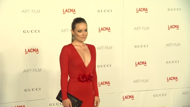 Olivia Wilde at the LACMA Hosts Inaugural Art Film Gala Honoring Clint Eastwood And John Baldessari Presented By GUCCI at Los Angeles CA