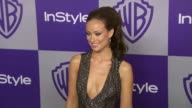 Olivia Wilde at the Warner Bros And InStyle Golden Globe AfterParty at Beverly Hills CA