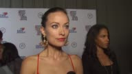 INTERVIEW Olivia Wilde on Artists for Peace and Justice and on how we keep the spotlight on relief in Haiti at the Olivia Wilde Hosts 'Artists For...