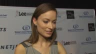 Olivia Wilde on being a part of the night and supporting EIF's work how she feels about Christina Applegate's commitment to raising awareness at the...