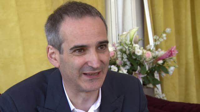Olivier Assayas on Edgar Ramirez fulfilling all the requirements at the Carlos Interview Cannes Film Festival 2010 at Cannes