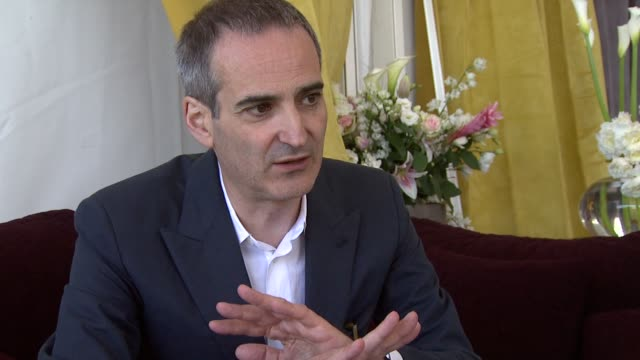 Olivier Assayas on not rehearsing the shots and doing first takes at the Carlos Interview Cannes Film Festival 2010 at Cannes