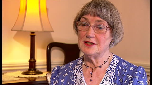 interview with former Olympians Dorothy Parlett and Dorothy Tyler ENGLAND London Woodford INT Dorothy Parlett interview SOT On how she felt when she...