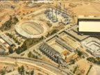Olympic stadiums and International Broadcast Centre of the OAKA Athens Olympic Sports Complex in construction
