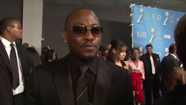 Omar Epps on being here on the NAACP Image Awards and on being nominated for an award at the 40th NAACP Image Awards at Los Angeles CA