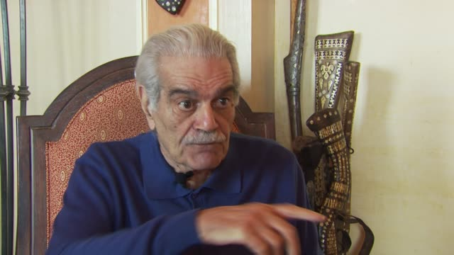 Omar Sharif on loving the script and making the film being happy to have made the film and on the subject matter of the film covering Alzheimer's...