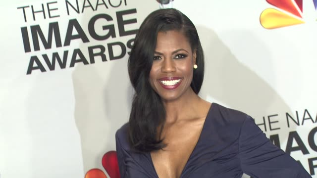 Omarosa Manigault at 44th NAACP Image Awards Photo Room on 4/12/13 in Los Angeles CA