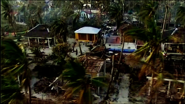 One year on from Typhoon Haiyan T11111332 / Cebu Buildings damaged and destroyed by the typhoon