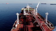 on board the super tanker