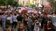 HARASSMENT on March 08 2014 in Beirut Lebanon