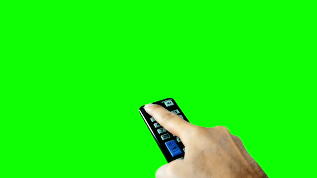 On Off Remote Controller Green Screen