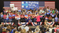 On the eve of the Kentucky Primary Hillary Clinton campaigns during a get out the vote event at Transylvania University in Lexington Kentucky Hillary...