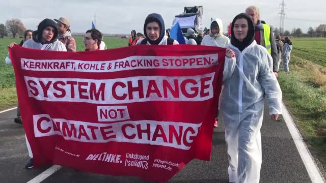 On the eve of UN climate negotiations in Bonn environmental activists demand that governments step up action to halt global warming starting with a...