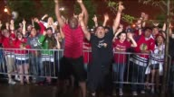 WGN on the night the Blackhawks won the Stanley Cup on June 15 2015 in Chicago Illinois