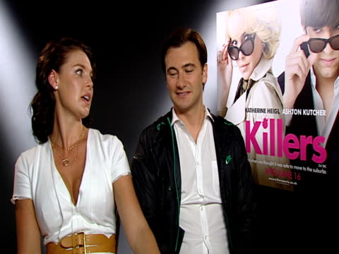 on the three Katherines in the movie at the Killers Interview at London England