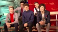 One Direction Wax Figures of Niall Horan Zayn Malik Liam Payne Harry Styles Louis Tomlinson at Madame Tussauds New York Unveils One Direction Wax...